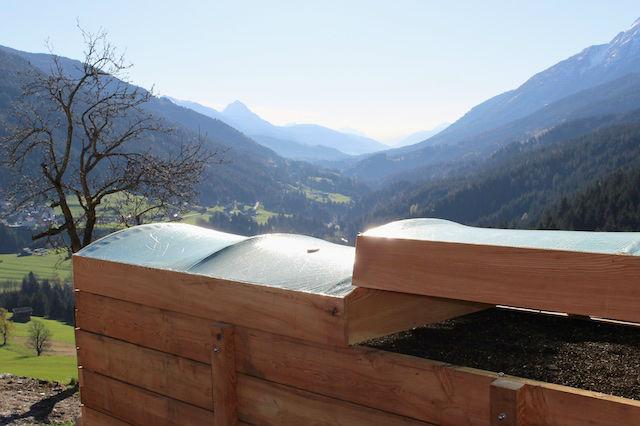 hepi-Garten Hochbeet mit Talblick