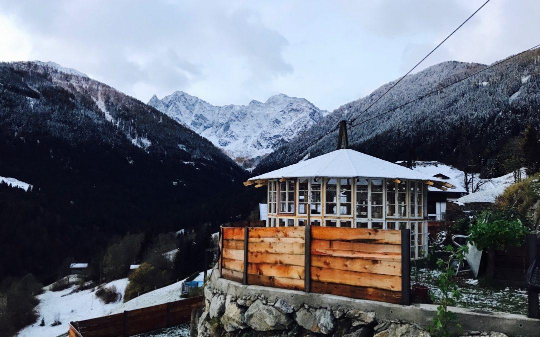 Unsere Aprés-Skitour-Bar ist fast fertig!